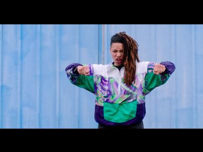 Photo extraite de la vidéo-poème Appelle Moi Poésie saison 3